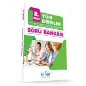 Efor Yayınları 8.Sınıf Tüm Dersler Soru Bankası - Efor Yayıncılık