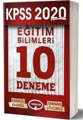 Eğitim Bilimleri 10 Deneme Sınavı - Yediiklim Yayınları