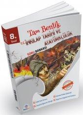 8. Sınıf Tam Benlik İnkılap Tarihi Soru Bankası - Bilimyolu Yayınları