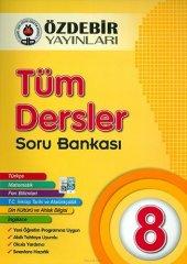 Özdebir 8.Sınıf Tüm Dersler Soru Bankası - Özdebir Yayınları