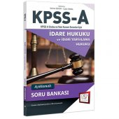 2018 Kpss A Grubu İdare Hukuku Klamalı S.B - 657 Yayınevi