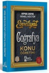 2018 Kpss Coğrafya Konu Öğretimi  - 657 Yayınevi