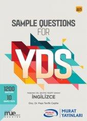 Sample Questions For Yds - Murat Yayınları
