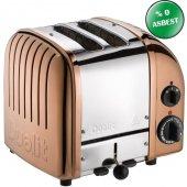Dualit 27390 Classic 2 Hazneli Ekmek Kızartma Makinesi Bakır