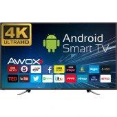 Awox K5500rst 55 140 Ekran Uydu Alıcılı 4k Ultra Hd Smart Led Tv