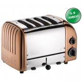 Dualit 47390 Classic 4 Hazneli Ekmek Kızartma Makinesi Bakır