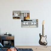 Akrilik Dekoratif Duvar Aynası-2