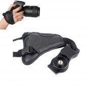 Hand Grip Elcik Deri Bilek Kayışı Üçgen Canon Nikon Sony Vb. İçin