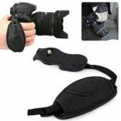 Dslr Canon Nikon Sony İçin Hand Grip Elcik Deri Bilek Kayışı
