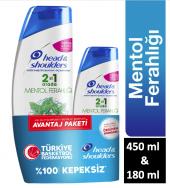 Head&shoulders Mentol Ferahlığı 2si1 Arada...