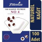 Filter Max Kahve Filtre Kağıdı (Naturel) 4...