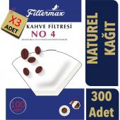 Filter Max Kahve Filtre Kağıdı Büyük Boy (4...