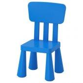 Ikea Mammut Çocuk Sandalyesi (Mavi)