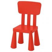 Ikea Mammut Çocuk Sandalyesi (Kırmızı)