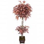 Yapay Ağaç Sonbahar Hazan Ağacı Bakır 180cm