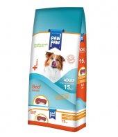 Paw Paw (Pawpaw) Biftekli Köpek Maması-15kg