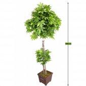 Yapay Ağaç Yeşil Yapraklı Çınar Ağacı 180 Cm...