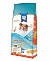 Paw Paw (Pawpaw) Kuzu Etli Ve Pirinçli Köpek Maması 15kg