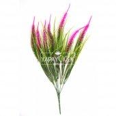 Yapay Çiçek (Fuşya Püsküllü Arjantin Demeti)