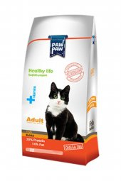 Paw Paw (Pawpaw) Balıklı Kedi Maması-15 kg