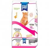Paw Paw (Pawpaw) Tavuklu Yavru Kedi Maması-15kg