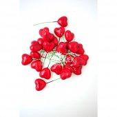 25li Paket Mini Kırmızı Kalp