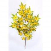 Yapay Çınar Ağacı Dalı 65 cm Yeşil-Sarı