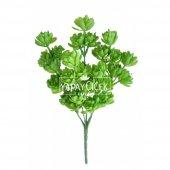 Yapay Çiçek Islak Succulent Demeti Canlı Yeşil