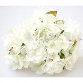 Yapay Çiçek Ortanca Demeti 40 cm Beyaz-2