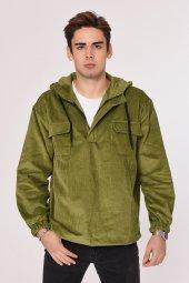 Ower Size Model Kadife Sweatshirt