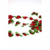Yapay Bahar Çiçekli Sarkan 100 cm Kırmızı-2