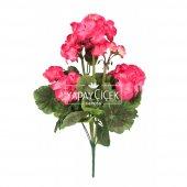 Yapay Çiçek Büyük Sardunya Demet Fuşya