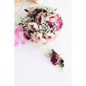 Gelin Buketi Rozes Gelin Çiçeği