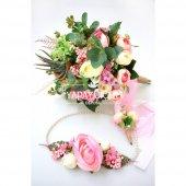 Büyük Gelin Çiçeği Linum 3lü Set
