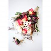 Rubus Lüx Gelin Çiçeği 2li Set