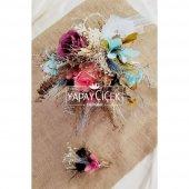 Alys Gelin Çiçeği 2li Set
