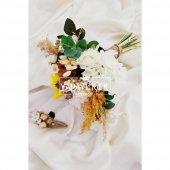 Doğal Çiçekler Papatyalar ve Güller Şöleni 2li Set-3