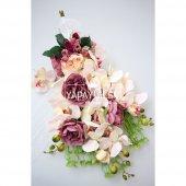 Sarkan Orkide Gelin Çiçeği 2li Set