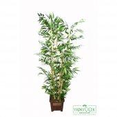 Yapay Bambu Ağacı 6 Gövde 140 cm (Model8)-2