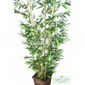 Yapay Bambu Ağacı 6 Gövde 140 cm (Model8)-3
