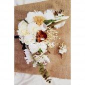 Exclusive Serisi Aldonza Gelin Çiçeği 2li Set