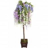 Yapay Akasya Ağacı Karışık Çiçekli 170cm