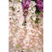 Yapay Akasya Ağacı Pembe Çiçekli 180cm-3