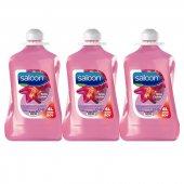 Saloon Sıvı Sabun Işıltılı Çiçekler 4lt 3lü