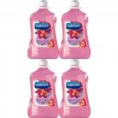 Saloon Sıvı Sabun Işıltılı Çiçekler 4lt 4lü