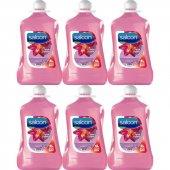 Saloon Sıvı Sabun Işıltılı Çiçekler 4lt 6lı