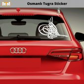 Osmanlı Tuğra Oto Sticker