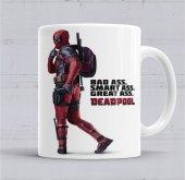 Deadpool Marvel Kupa Bardak Porselen