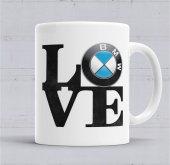 Love Bmw Aşk Bmw Kupa Bardak Porselen