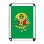 Osmanlı Bayrağı Çerçeveli 30x45cm No 3